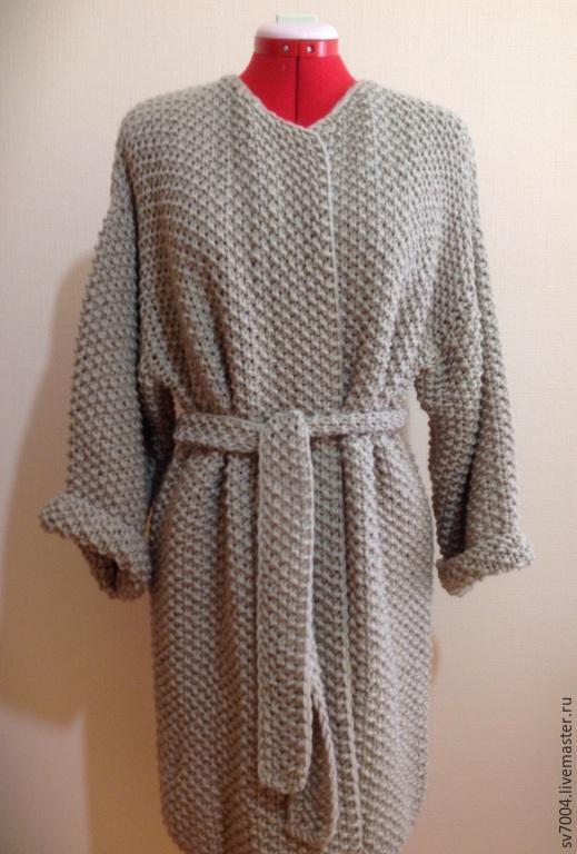 Верхняя одежда ручной работы. Ярмарка Мастеров - ручная работа. Купить Пальто 2. Handmade. Бежевый, пальто, модное пальто