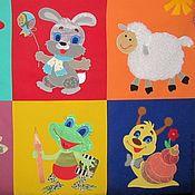 Куклы и игрушки ручной работы. Ярмарка Мастеров - ручная работа Развивающий коврик для детей.. Handmade.