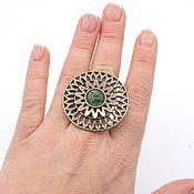 Украшения handmade. Livemaster - original item Openwork ring Salicicola bronze. Handmade.