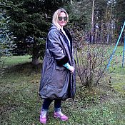 Одежда handmade. Livemaster - original item Cover, remake a mink coat. Two-way Park. Handmade.