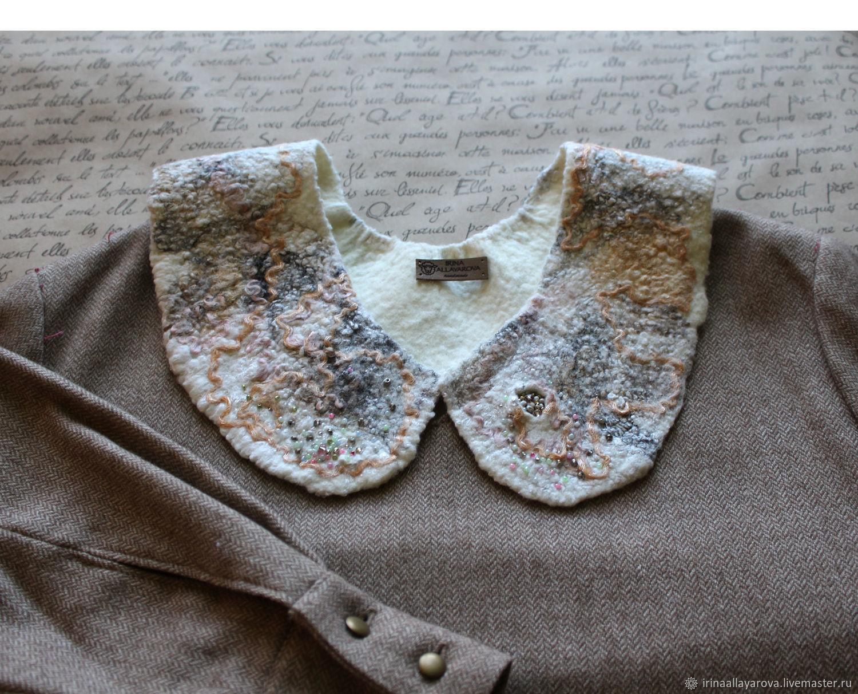 Felted collar ' Essay ', Collars, Verhneuralsk,  Фото №1