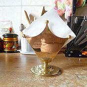 Для дома и интерьера ручной работы. Ярмарка Мастеров - ручная работа Салфетница из латуни. Handmade.