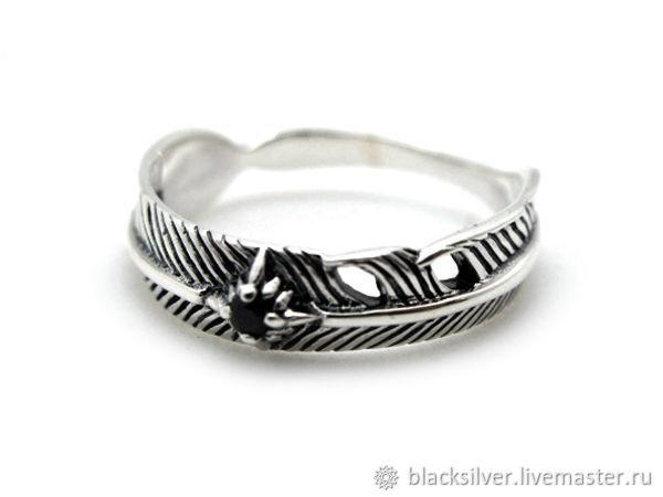 Кольца ручной работы. Ярмарка Мастеров - ручная работа. Купить Кольцо из серебра Plum Stone TER37-10. Handmade. Кольцо