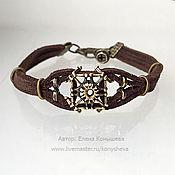 Украшения handmade. Livemaster - original item Bracelet in steampunk style.. Handmade.