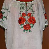 Одежда handmade. Livemaster - original item Women`s embroidery-ZhR3-52. Handmade.