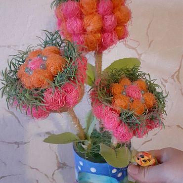 Для дома и интерьера ручной работы. Ярмарка Мастеров - ручная работа Цветочная композиция в керамической кружке. Handmade.