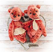"""Кукольная еда ручной работы. Ярмарка Мастеров - ручная работа Мишки тедди """"Любофф"""" Подарок на свадьбу, годовщину,  влюбленным. Handmade."""