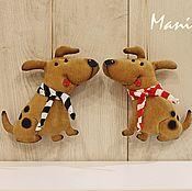 ручной работы. Ярмарка Мастеров - ручная работа Собаки кофейные. Handmade.