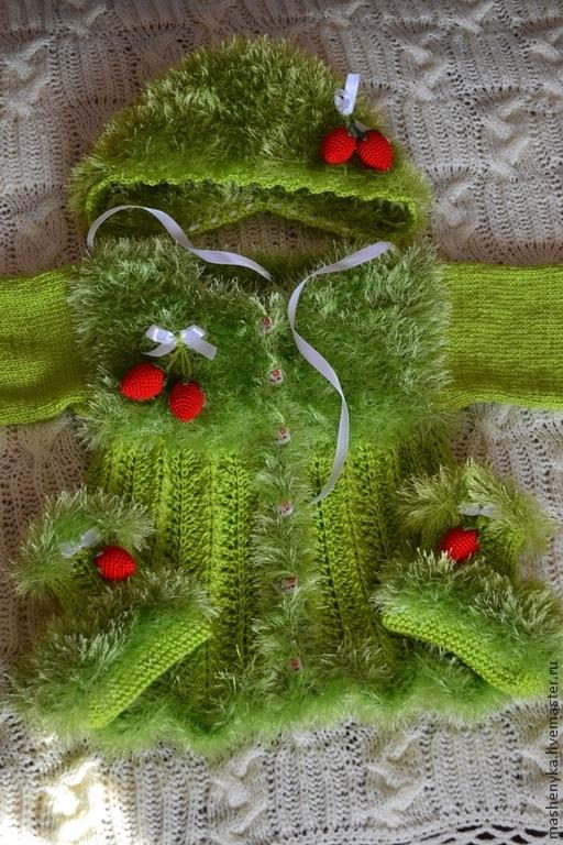 Одежда для девочек, ручной работы. Ярмарка Мастеров - ручная работа. Купить Костюмчик для маленькой модницы. Handmade. Ярко-зелёный