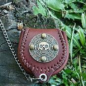 Сумки и аксессуары handmade. Livemaster - original item Coin leather. Handmade.