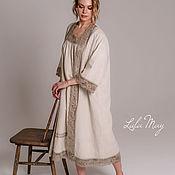 Одежда handmade. Livemaster - original item Linen Cape