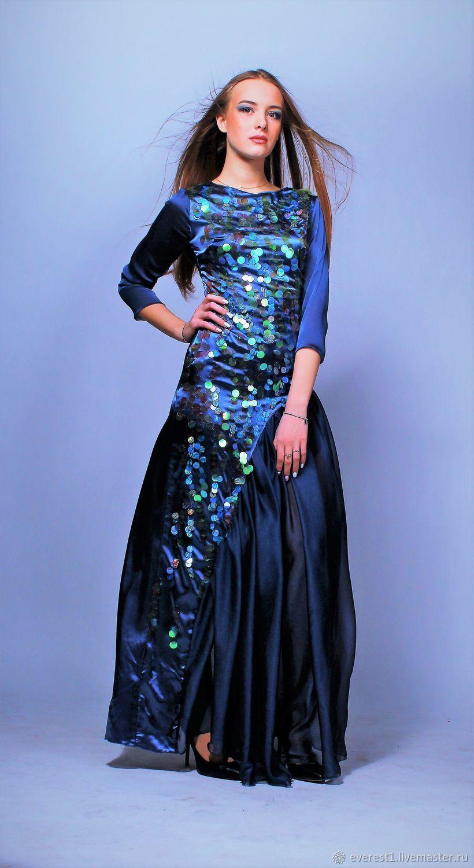 Платье из коллекции`Морской карнавал`