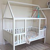 Для дома и интерьера handmade. Livemaster - original item Cot a house of cedar For Sophia. Handmade.