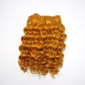 Материалы для творчества ручной работы. Ярмарка Мастеров - ручная работа натуральные трессы для кукол (ярко-золотой, крупные локоны) 1 метр. Handmade.