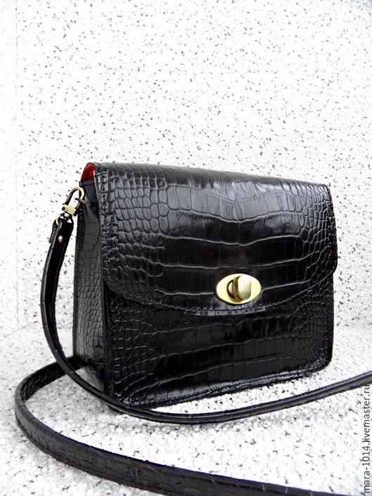 Женские сумки ручной работы. Ярмарка Мастеров - ручная работа. Купить METROPOLIS BAG М кожаная сумочка на подкладке из нат замши. Handmade.