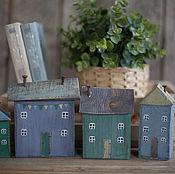 Для дома и интерьера ручной работы. Ярмарка Мастеров - ручная работа Домики интерьерные. Handmade.