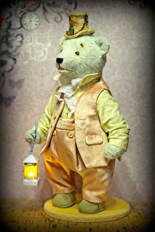 Мишки Тедди ручной работы. Ярмарка Мастеров - ручная работа. Купить Авторский коллекционный мишка лорд 27 см. Handmade.