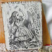 Картины и панно ручной работы. Ярмарка Мастеров - ручная работа Алиса. начало игры.. Handmade.