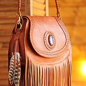 Классическая сумка ручной работы. Ярмарка Мастеров - ручная работа Женская сумка в стиле бохо. Handmade.