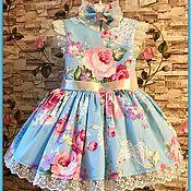 Работы для детей, ручной работы. Ярмарка Мастеров - ручная работа Детское платье Butterfly. Handmade.