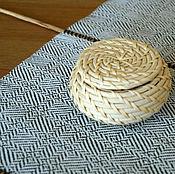 Для дома и интерьера ручной работы. Ярмарка Мастеров - ручная работа Дорожка на стол, ручное ткачество. Handmade.