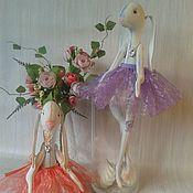 Куклы и игрушки ручной работы. Ярмарка Мастеров - ручная работа Зайка Рашелька. Грунтованная текстильная игрушка. Handmade.