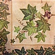 Плющ с ягодами - ветки плюща - салфетка для декупажа Декупажная радость