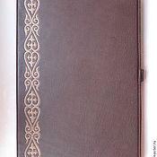 Сувениры и подарки handmade. Livemaster - original item folder leather
