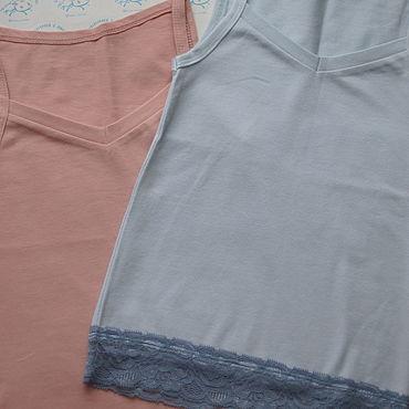 Одежда ручной работы. Ярмарка Мастеров - ручная работа Майка для девочки. Handmade.