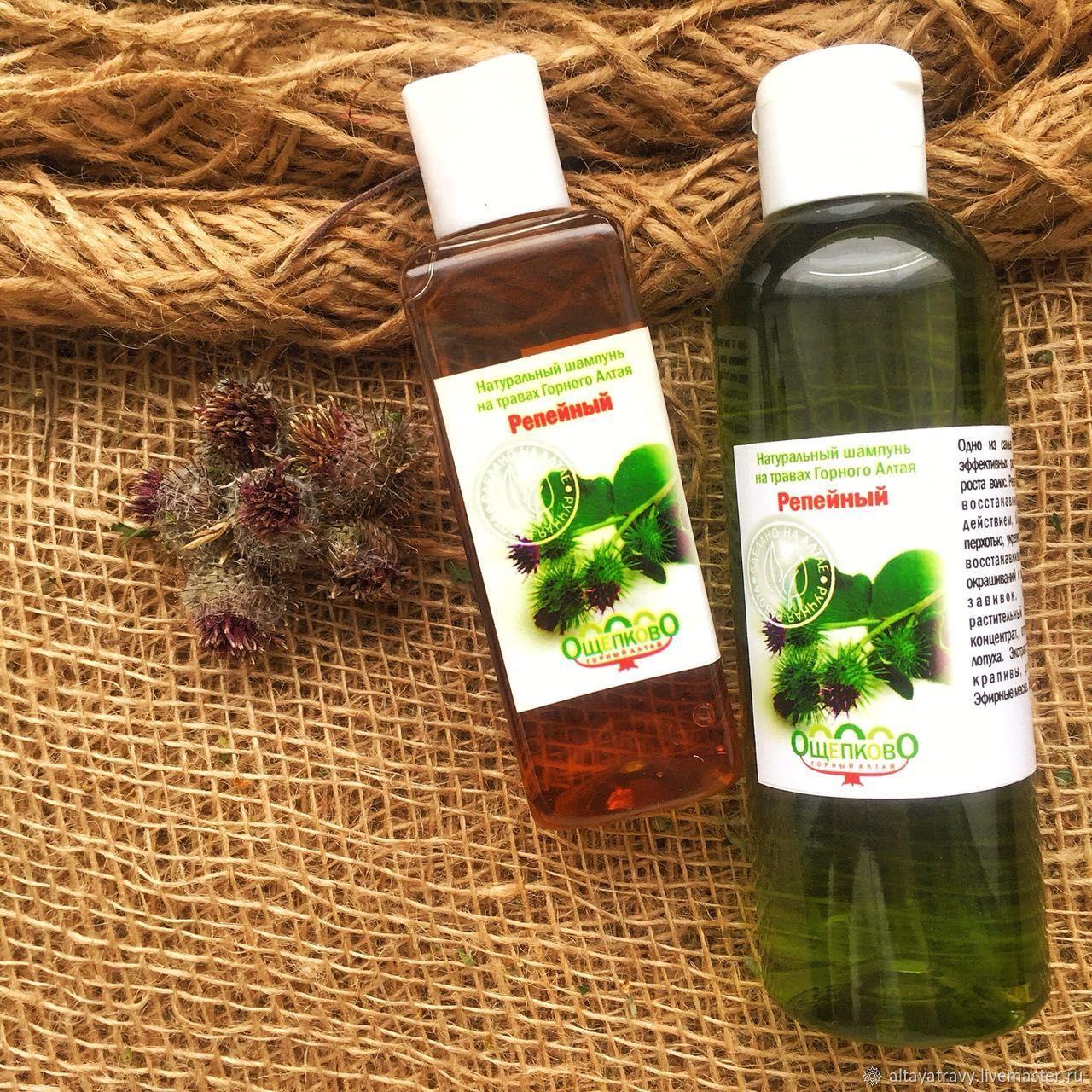 Burdock shampoo on herbs of the Altai Mountains, Shampoos, Kemerovo,  Фото №1