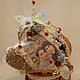 Подарки для влюбленных ручной работы. СЕРДЦЕ КОФЕЙНОЕ. Татьяна Силич (myown-sova). Ярмарка Мастеров. Свадьба, текстильная игрушка, полубусины