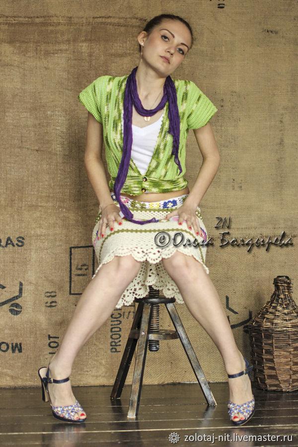 Womans Vest Sleeveless Jacket Boho Style Elegant Knit Vest, Vests, Anapa,  Фото №1
