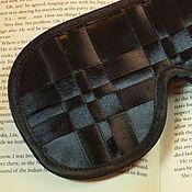 Одежда ручной работы. Ярмарка Мастеров - ручная работа Маска для сна Черная классика купить в подарок. Handmade.