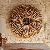 Для дома и интерьера ручной работы. Ярмарка Мастеров - ручная работа Декоративное панно солнце. Handmade.