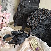 """Куклы и игрушки ручной работы. Ярмарка Мастеров - ручная работа Туфли """"Неделя в Париже"""". Handmade."""