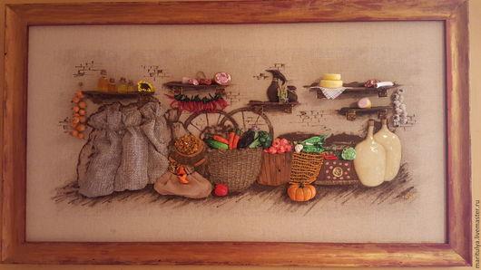 Натюрморт ручной работы. Ярмарка Мастеров - ручная работа. Купить Картина Чуланчик. Handmade. Комбинированный, интересный подарок, натюрморт