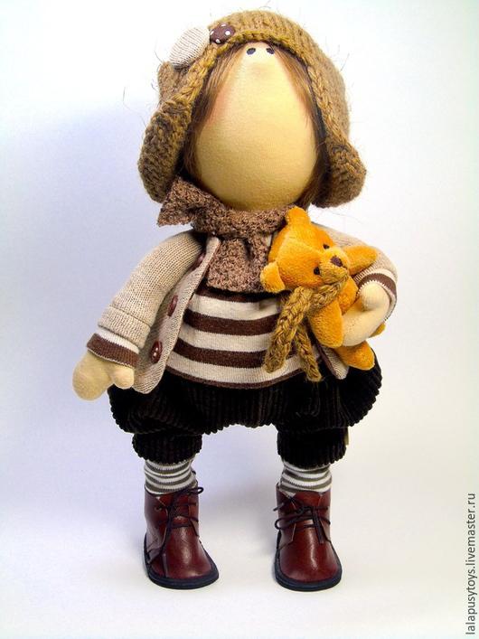 Коллекционные куклы ручной работы. Ярмарка Мастеров - ручная работа. Купить Текстильная Кукла Филипп. Handmade. Кукла мальчик, синтепон