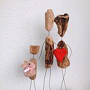 Подарки к праздникам handmade. Livemaster - original item Driftwood Interior toys from the series