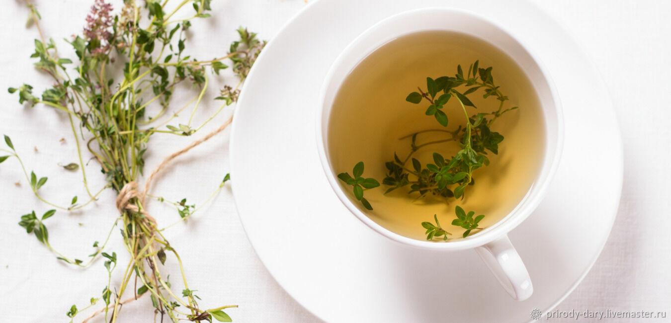 Иван-чай ферментированный с чабрецом, Наборы чая и кофе, Тарбагатай,  Фото №1