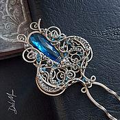 Украшения handmade. Livemaster - original item Hairpin with quartz stone