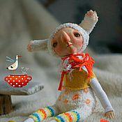 Куклы и игрушки ручной работы. Ярмарка Мастеров - ручная работа Зайцы, они такие.... Handmade.