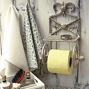 Для дома и интерьера ручной работы. Ярмарка Мастеров - ручная работа держатель для туалетной бумаги. Handmade.