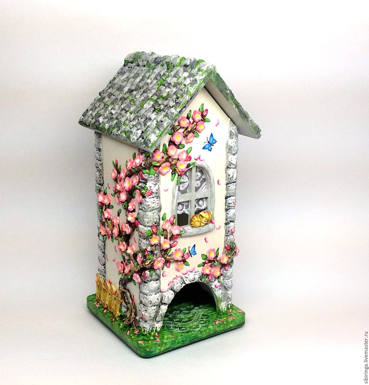 Чайные домики своими руками декупаж фото 602