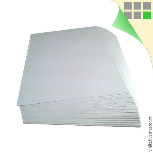 Бумага самоклеящаяся A4 матовая, фото, для струйной печати, 100г/м2