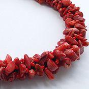 Украшения ручной работы. Ярмарка Мастеров - ручная работа Коралловое ожерелье. Handmade.