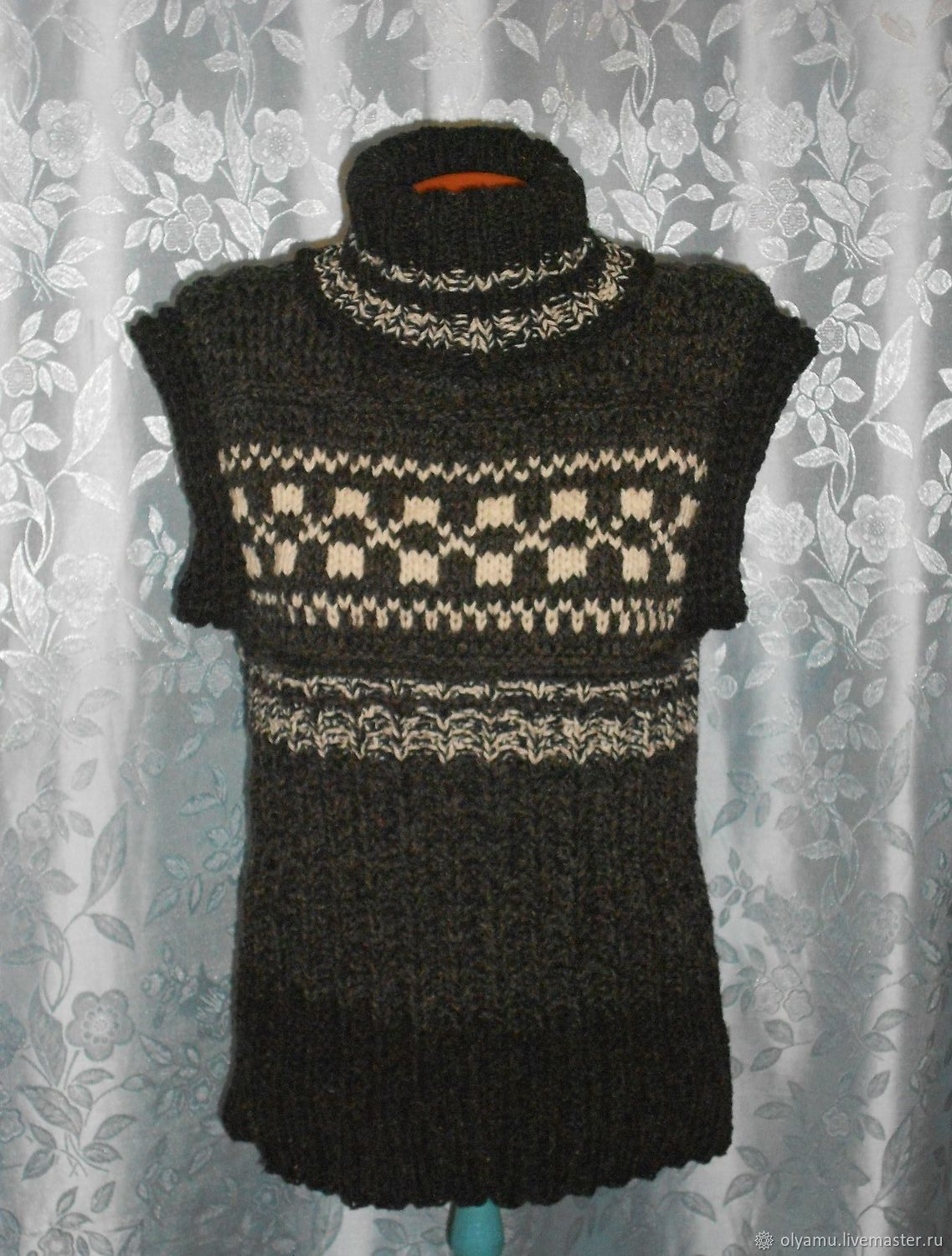 The order. Sleeveless sweater.Vest Sibiryak 3, Sweaters, Abakan,  Фото №1
