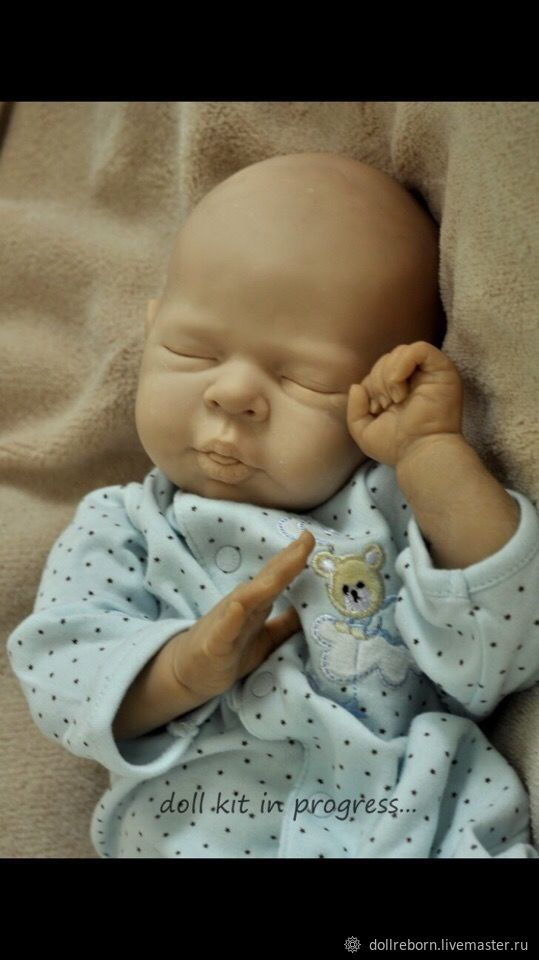 Mold Feasibility study from the sculptor Irina Kaplanskaya, Blanks for dolls and toys, Podolsk,  Фото №1