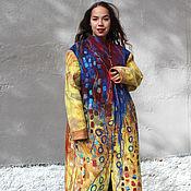 Одежда handmade. Livemaster - original item Coat felted