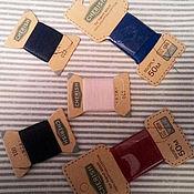 Материалы для творчества ручной работы. Ярмарка Мастеров - ручная работа Нитки для небольших работ маленькими бобинками. Handmade.