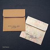 Сувениры и подарки ручной работы. Ярмарка Мастеров - ручная работа Конверт для диска на липучке. Handmade.